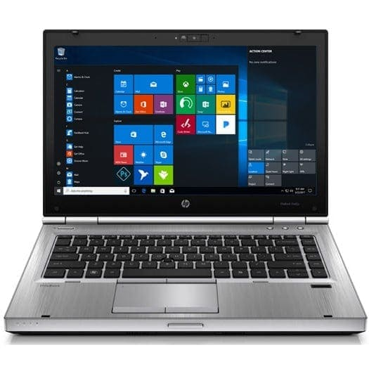 HP Laptop 180GB SSD 4GB Powerful Core i5 Windows 10 Sold State Drive Elitebook