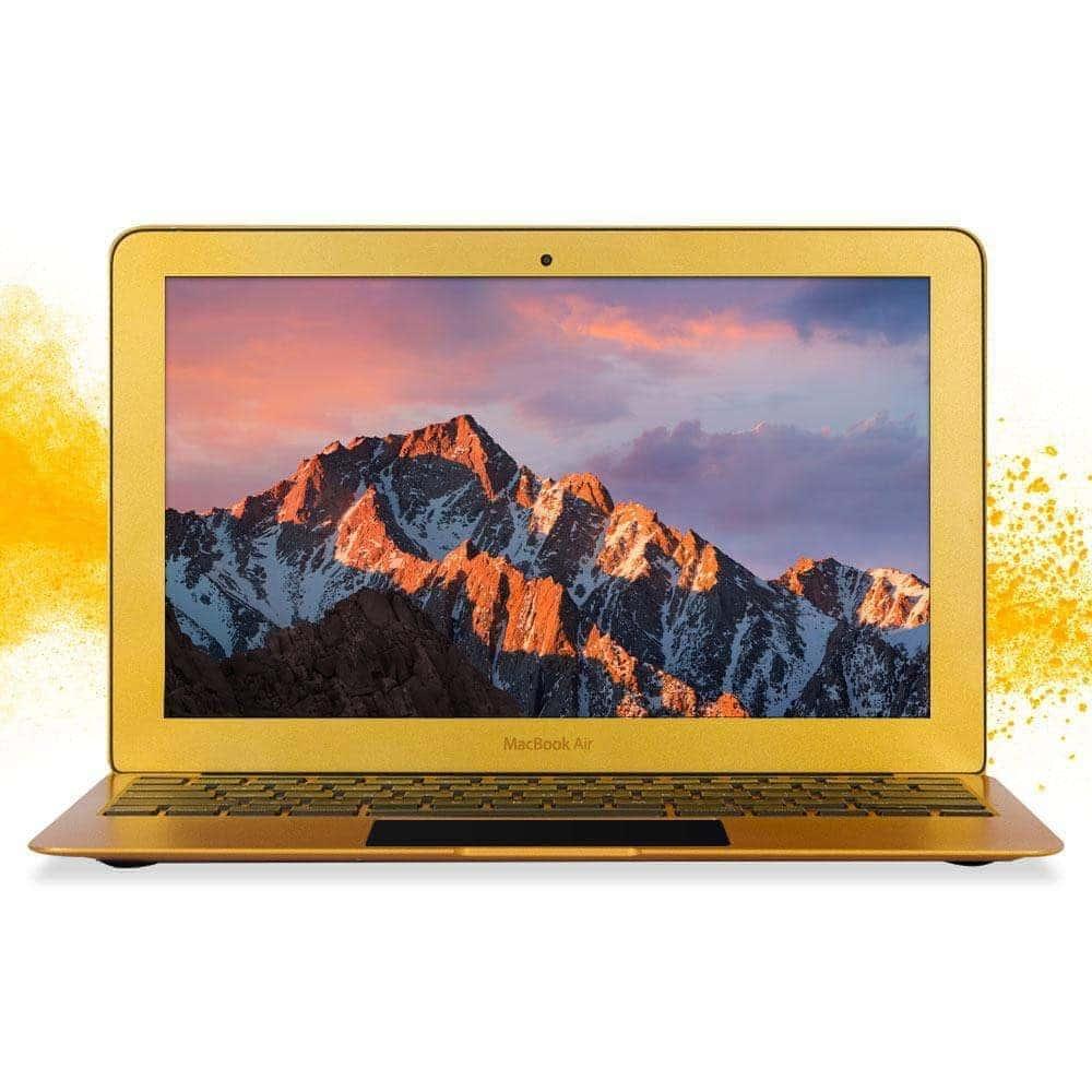 "Apple Macbook Air Powerful 11.6"" Core i5 128GB SSD Os Catalina Mac Laptop Golden Glow Sale"
