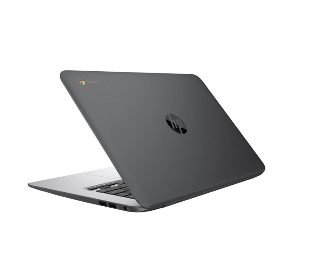 "HP Laptop Chromebook Powerful 14"" 16GB 4GB Webcam HDMI Refurbished Black Sale"
