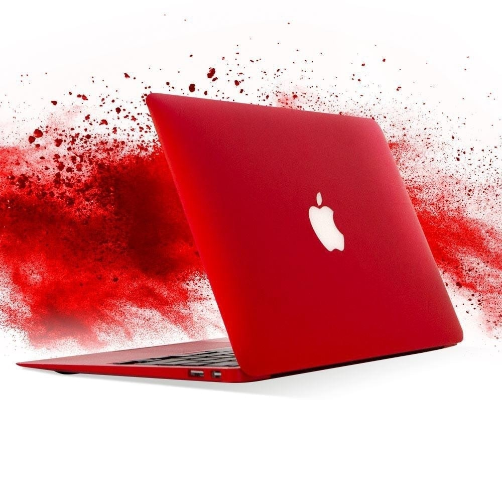 "Apple Macbook Air Powerful 11.6"" Core i5 128GB SSD OS Catalina Mac Laptop Red Spicy Sale"