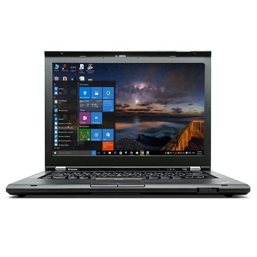 Lenovo Laptop 320GB HDD 16GB RAM Powerful T430 Core i5 Windows 10 DVD Webcam Sale