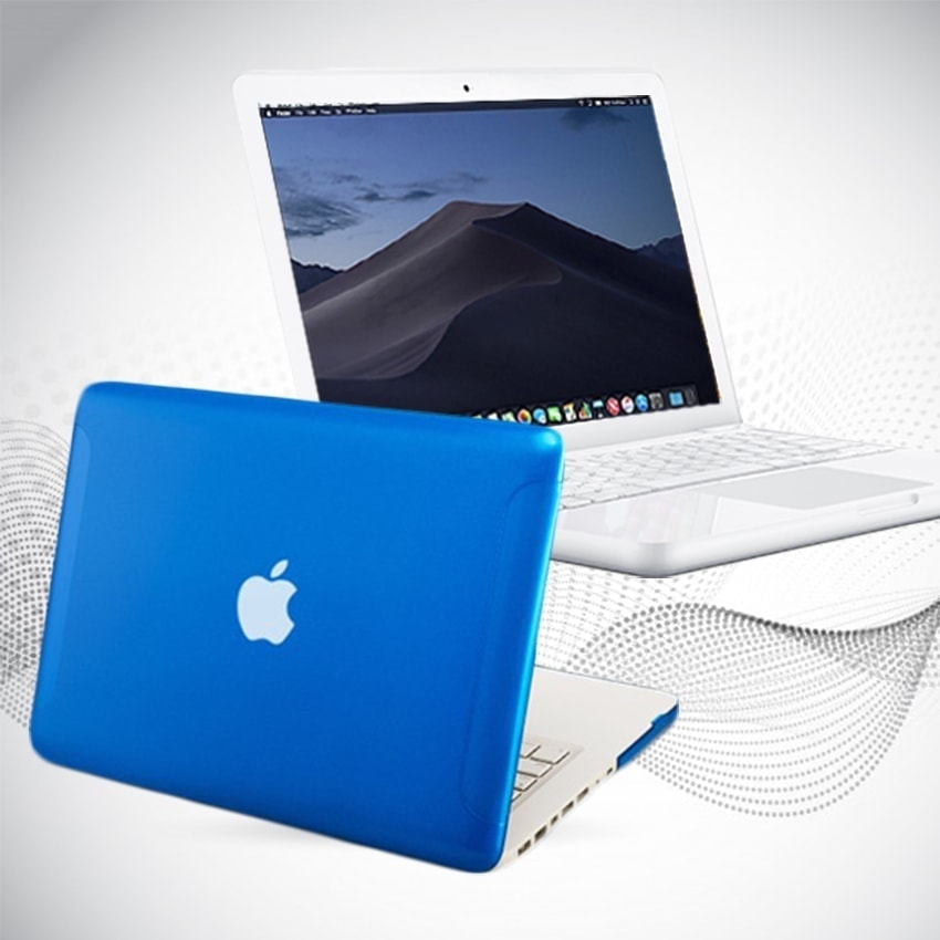 Refurbished Macbook Apple Powerful 256GB SSD Solid State 8GB RAM OS Mojave Mac Laptop Blue