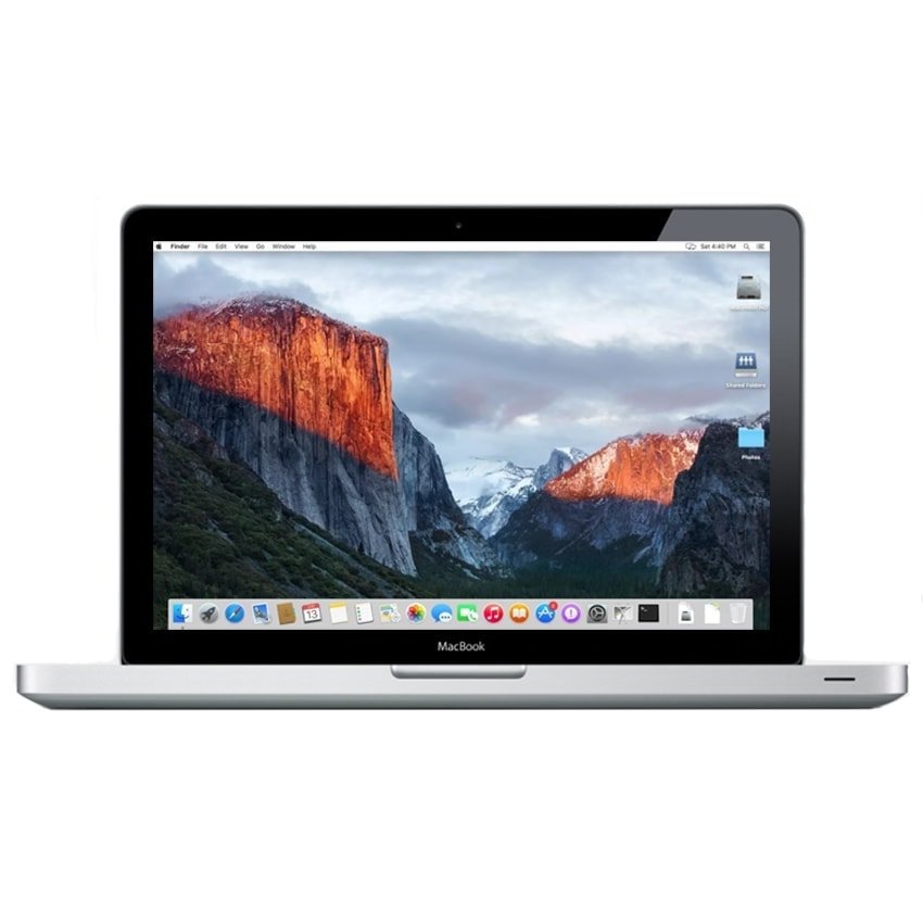 Apple Macbook Pro SILVER 320GB SSD 4GB RAM Mac Laptop OS El Capitan Webcam
