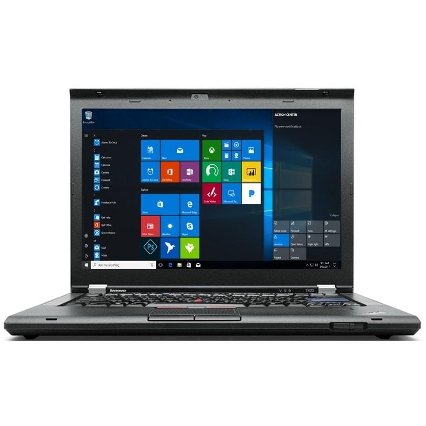 "Lenovo Laptop 14"" 256GB SSD 8GB RAM Powerful T420 Core i5 Windows 10 DVD"