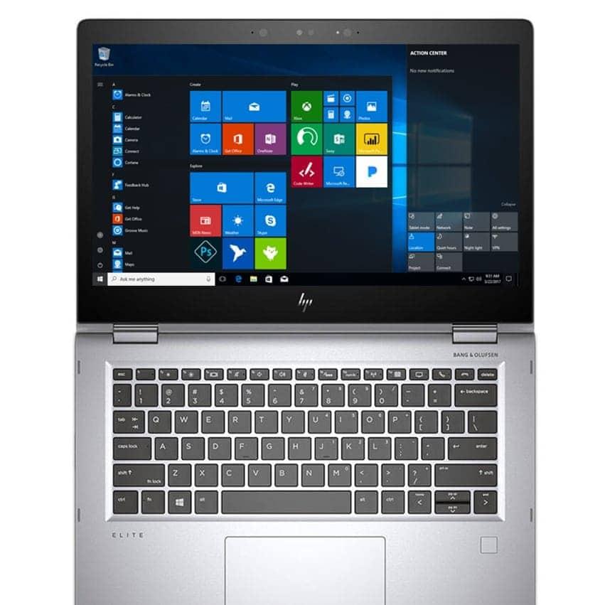 HP Laptop Elitebook X360 1030 TouchScreen 256GB SSD 8GB Powerful Core i5 Windows 10 Pro HDMI