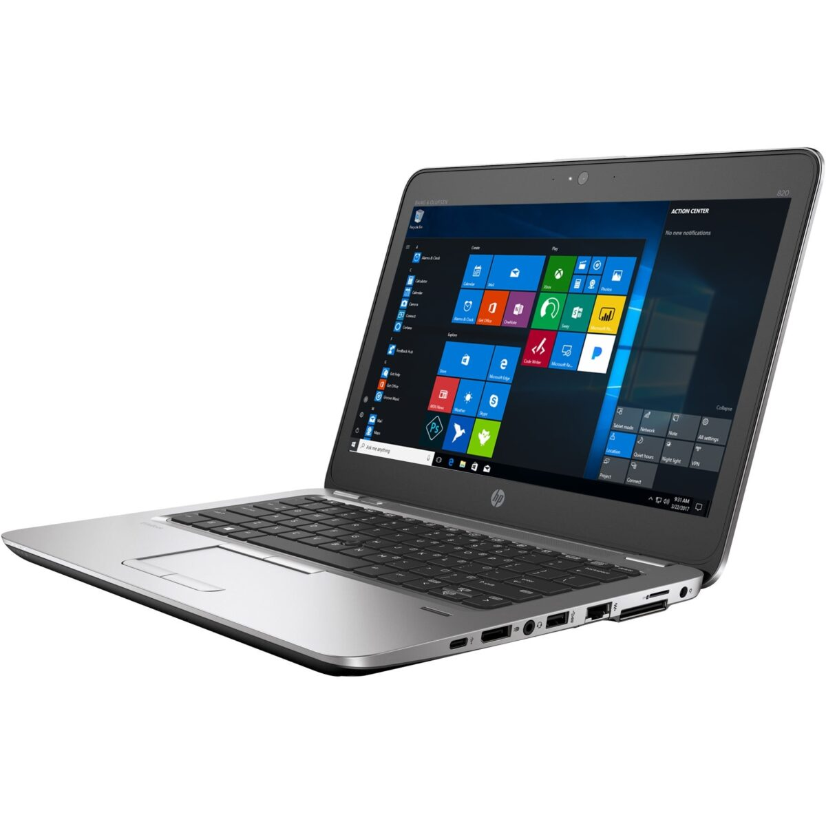 "HP Laptop Elitebook 256GB SSD 8GB RAM 820 G3 12.5"" Powerful Core i5 Windows 10 Sale"
