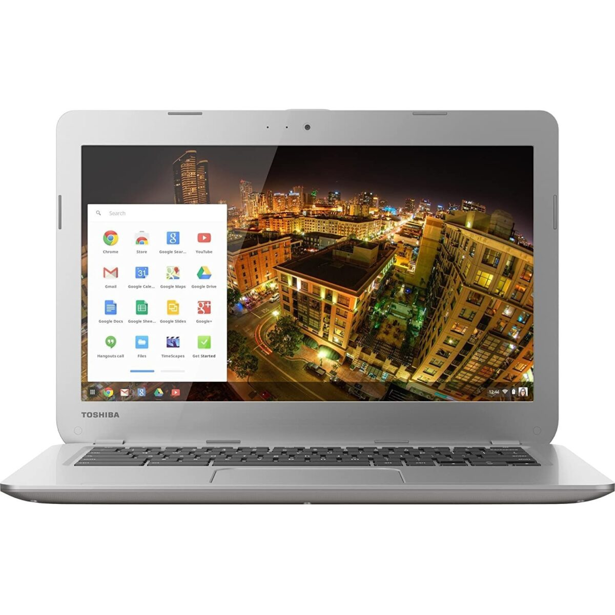 "Toshiba Laptop Chromebook 2 Powerful 13.3"" 16GB 4GB RAM Webcam HDMI Refurbished Intel Sale Chrome OS Silver"