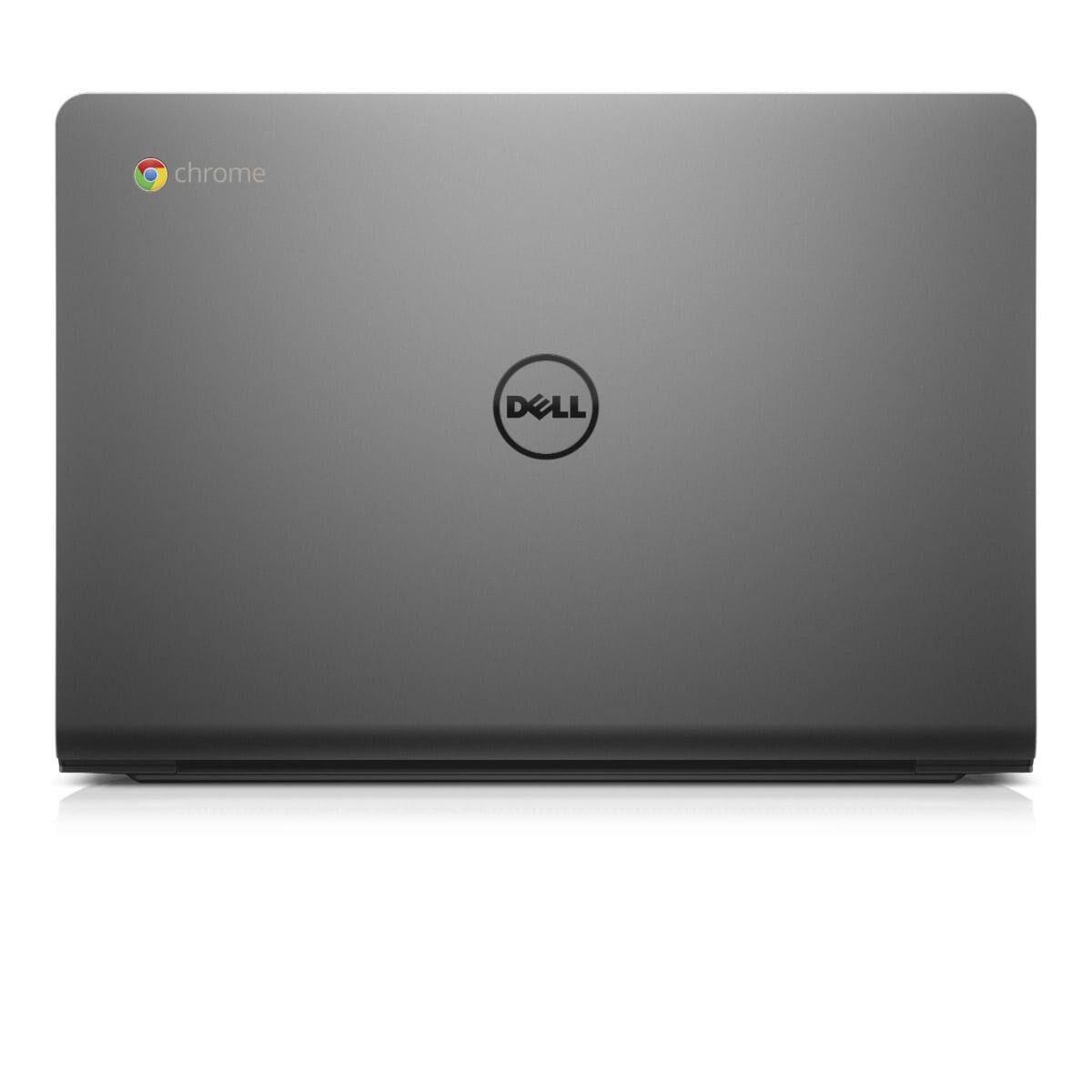 "Dell Chromebook Laptop Powerful 11.6"" 16GB 4GB Webcam HDMI Chrome OS Black"
