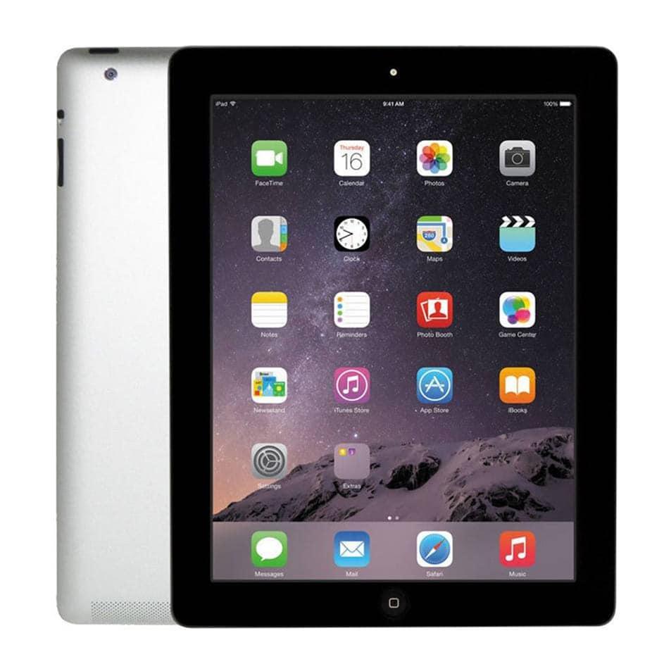 Apple iPad 4 16GB 9.7inch HD Retina Wifi 1080p Webcam Black Refurbished