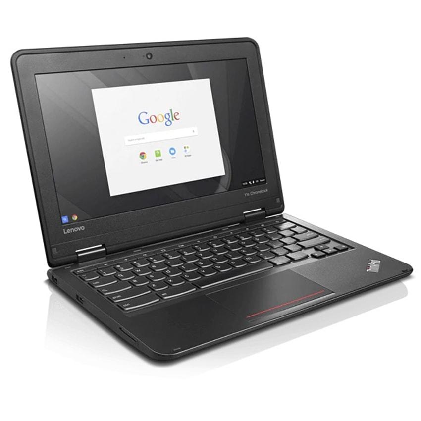 """Lenovo Chromebook Laptop Powerful 11.6"""" 16GB 4GB 11e Webcam HDMI Intel Chrome OS Black Graphite"""