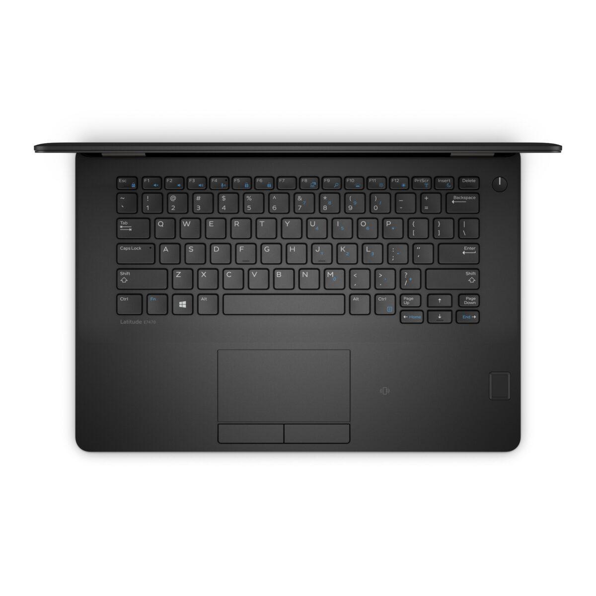 """Dell Ultrabook 14"""" Laptop 256GB SSD 16GB Powerful Core i5 E7470 Windows 10"""